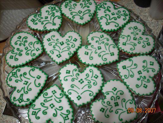 Inšpirácie na prípravu - zelene sladke darceky pre hosti