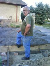 Ďalší z hlavných dozorov je môj ocino Jožko.