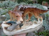 Royal dux pes s kacicou,