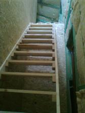 provizórne schody
