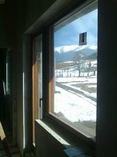 pohľad z okna spálne:)