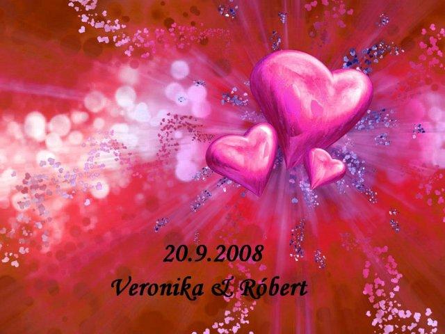 Naša svadba 20.9.2008 - môj výtvor ako etiketa