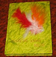 moje svatební kniha hostů, taky moje výroba, ale pro mě nádherná