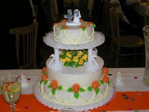 tak vypadal celý dort