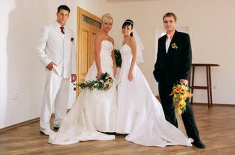 2 nevěsty a 2 ženiši - navštívili jsme Soníka na svatbě