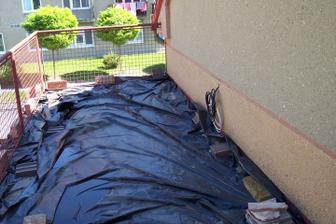 Balkón před zničením :-)