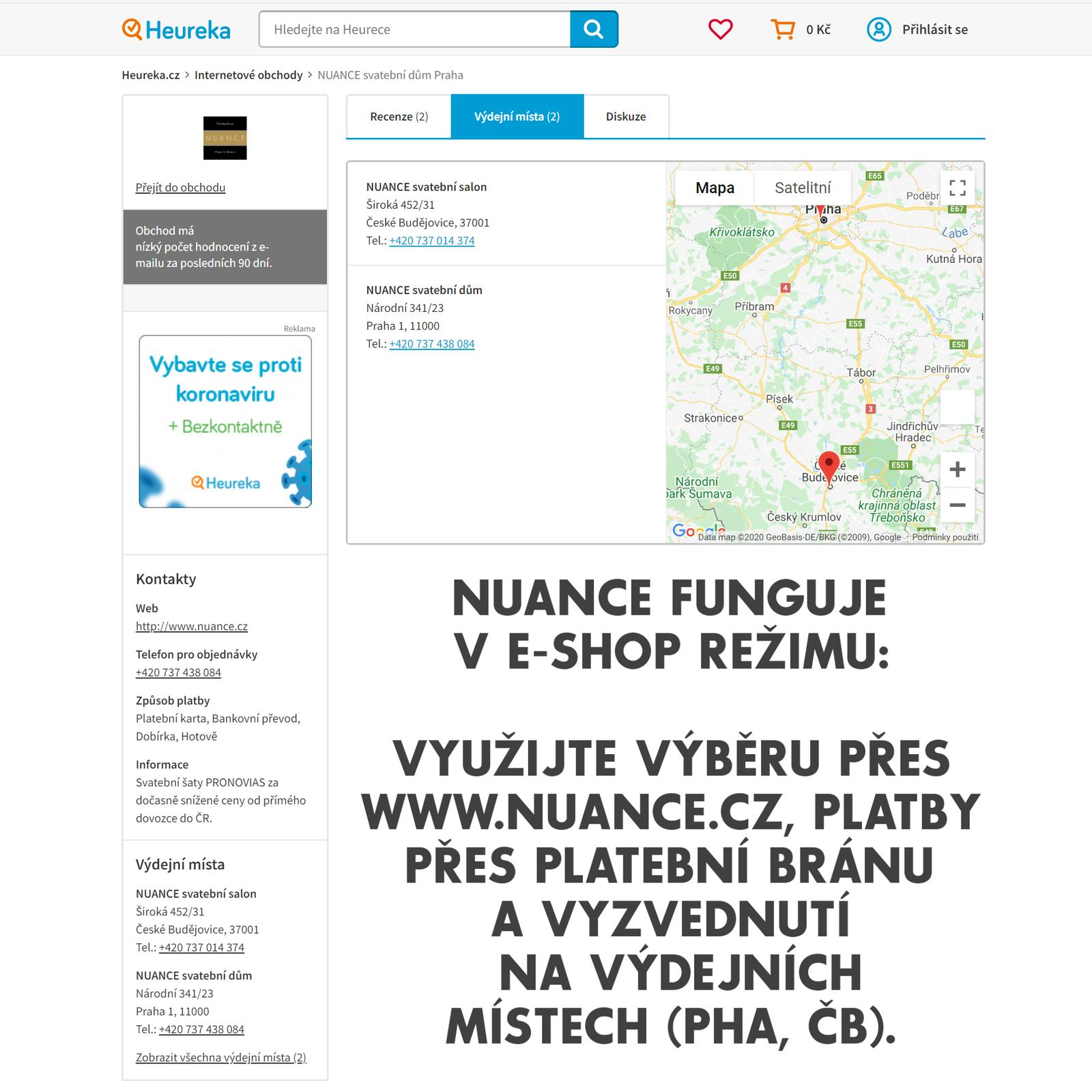 Postaráme se o Vás - koronavirus - https://www.nuance.cz