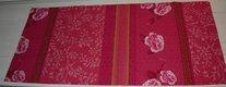 Štóla na stôl - tmavoružová  43 x 182 cm,