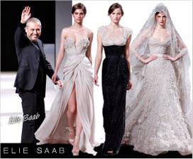 Elie Saab modny navrhar