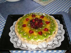 svatební dar (a zároveň i dort)