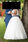 Svadobné šaty 46-50 , 48