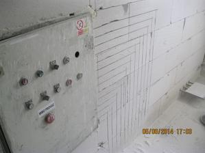 Budoucí skříň na přípojku vody