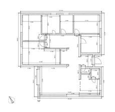 Finálna verzia vnútorného rozloženia domu