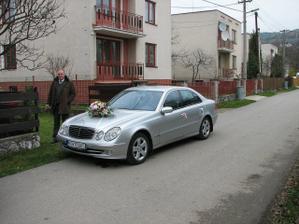 Ženíchove svadobné auto