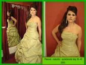 Plesové - maturitní - společenské šaty , 40