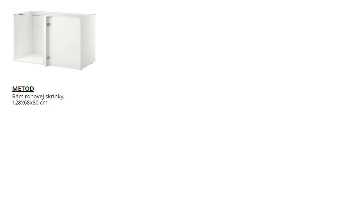Ahojte, prosím Vás rohový rám spodnej skrinky ikea v kuchyni, ktorý by ste odporučili? - Obrázok č. 2