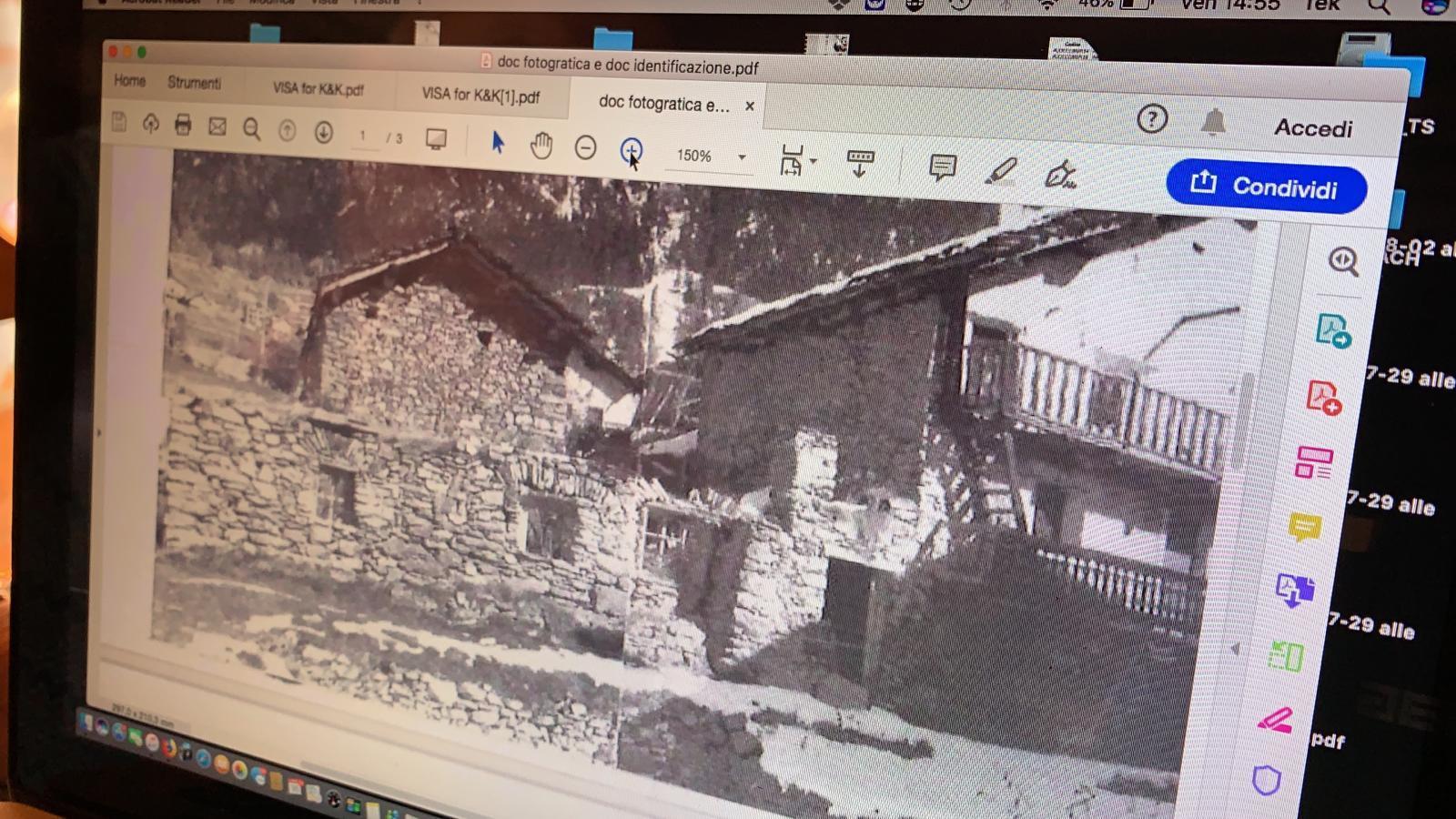 Horsky domcurik - Archivne snimky ako dokaz,ze aj na lavo bola budova..snad raz aj my
