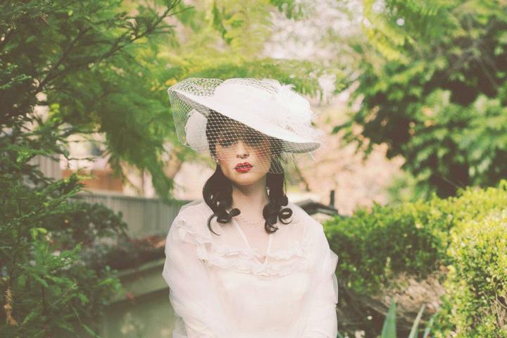 Princezná v klobúku - vlasové doplnky: Erica Elizabeth Koesler