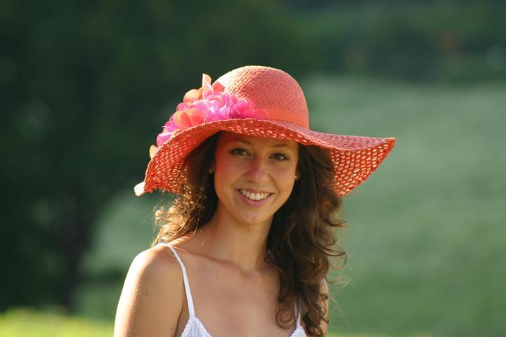 Princezná v klobúku - od Fleur de Paris z fler.cz