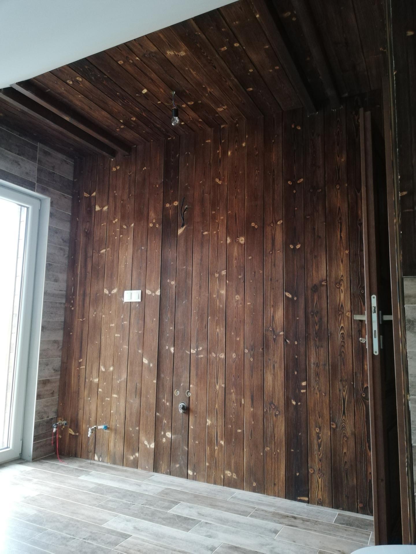 Práce okolo domu a v dome 2020 - kúpeľňa na poschodí