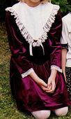 Spoločenské šaty detské, 152
