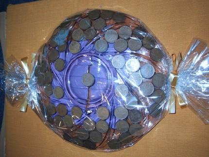 Originálně zabalené peníze jako dárek - Obrázek č. 78