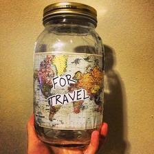 na cestování