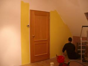 a už malujeme