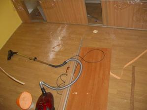 původní podlaha...