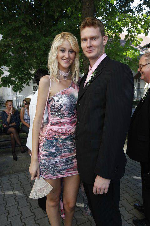 Martin a ja.. - ..svadba mojej sesternice:) boli sme spolu len pár mesiacov