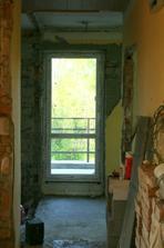 28.4.2012 - Nové větší balkonové dveře - hurá!