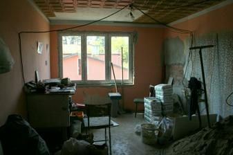 20.5.2012 - Kuchyně bude další na řadě.