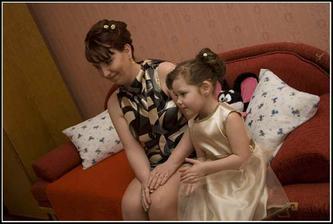 staršia sestra s mojim krsniatkom