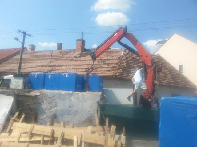 Naša stavba bungalou Salichat - už budú múry :-)