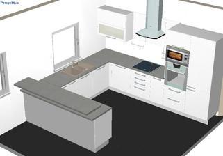 takto bude vyzerať naša kuchynska linka :-)