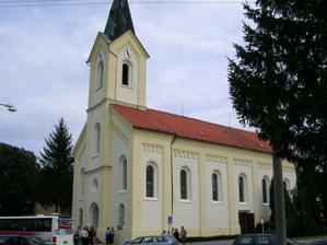 Místo oddání kostel sv.Josefa v Dubňanech