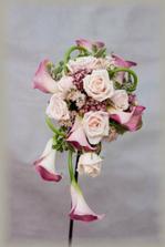 neaké inšpirácie na svadobné kytičky