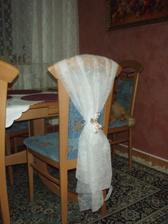 přehoz na židle do kostela a hostinu, jiná mašle