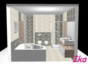 navrh koupelna