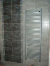 žebříky v koupelně