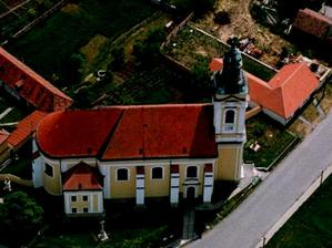 v tomto kostele bude svatba, sv. Kunhuty v Čejkovicích