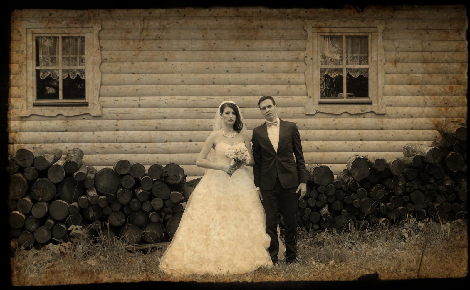 fantastikfoto - svadba B+M (ako pred 100 rokmi :))