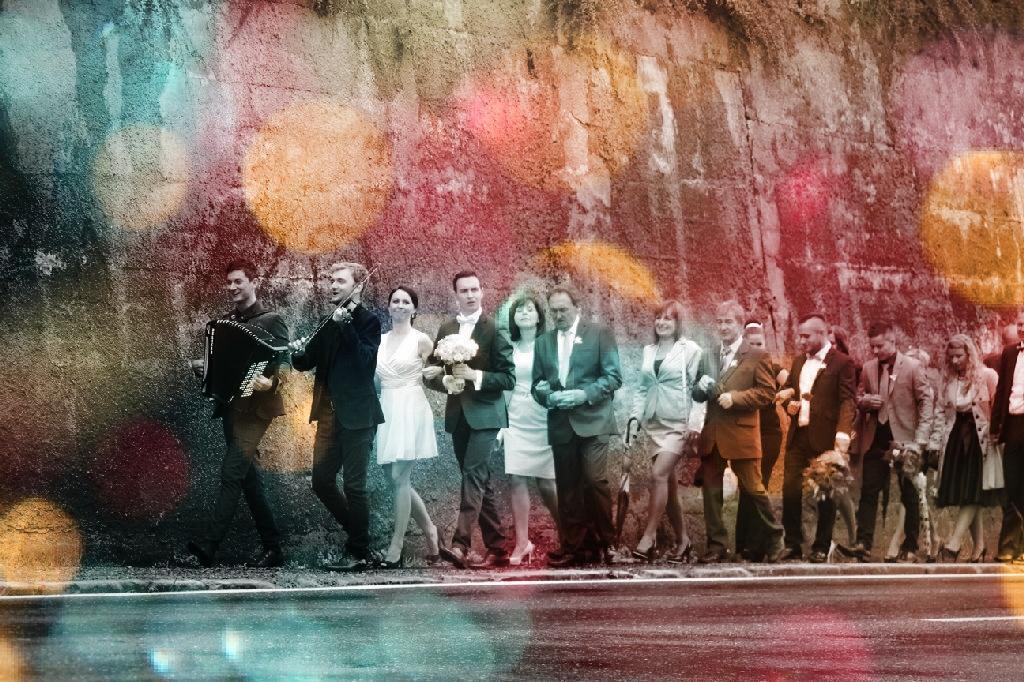 fantastikfoto - svadba B+M (svadobný sprievod)