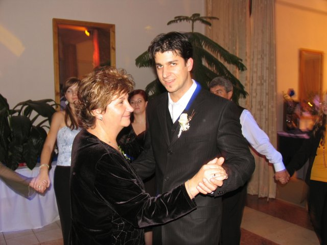 Aneta Markovičová{{_AND_}}Dávid Beláň - tanček s maminkou