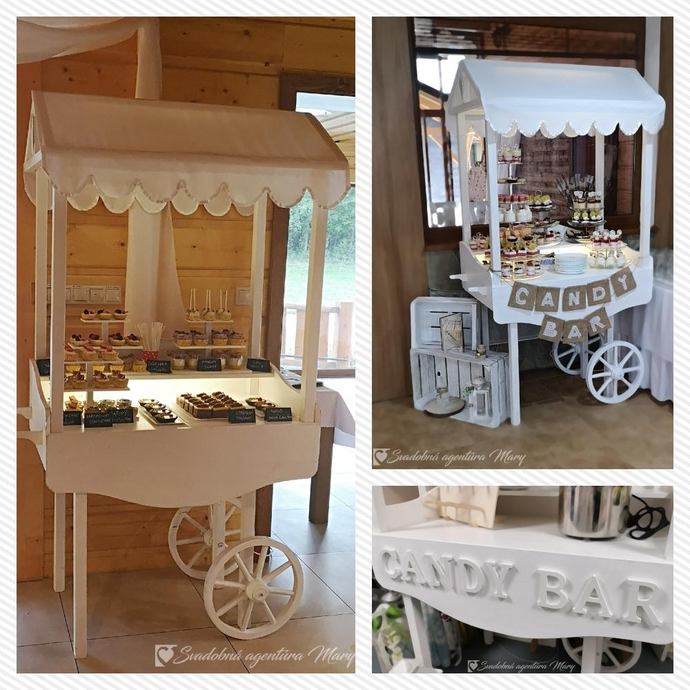 Candy bar - vozík - Obrázok č. 2