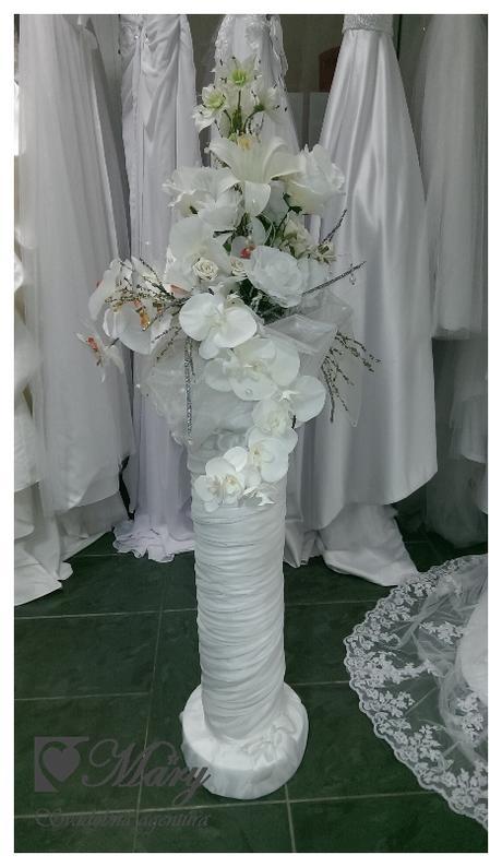 Svadobná dekorácia -stlp - Obrázok č. 3