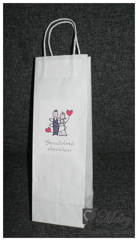 Taška na svadobné výslužky - Obrázok č. 1