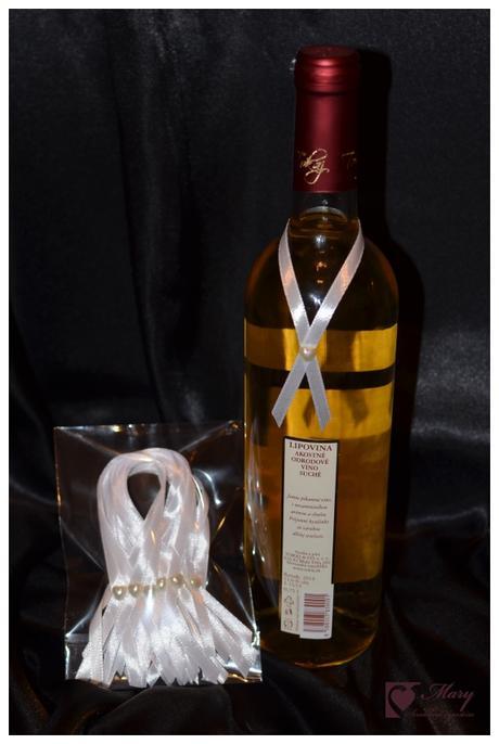 Ozdoba na fľašu - Obrázok č. 1