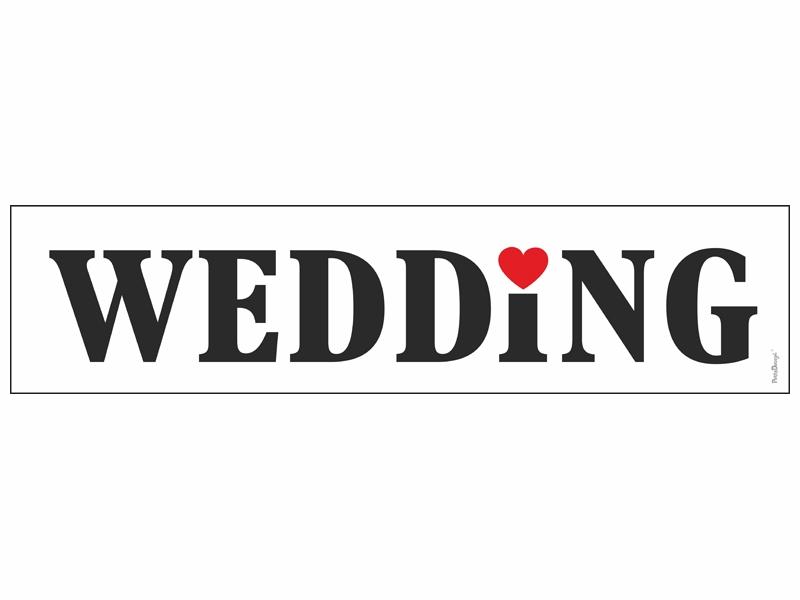 ŠPZ WEDDING - Obrázok č. 1
