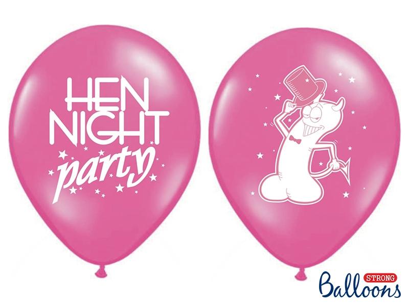 Balony s potlačou - night party - Obrázok č. 1